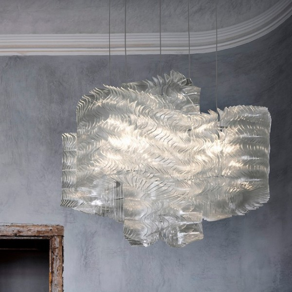 PLISSE CLOUD [Maurizio Galante] - Small Dia 500x H 535 mm / Large Dia 1340x H 1035 mm