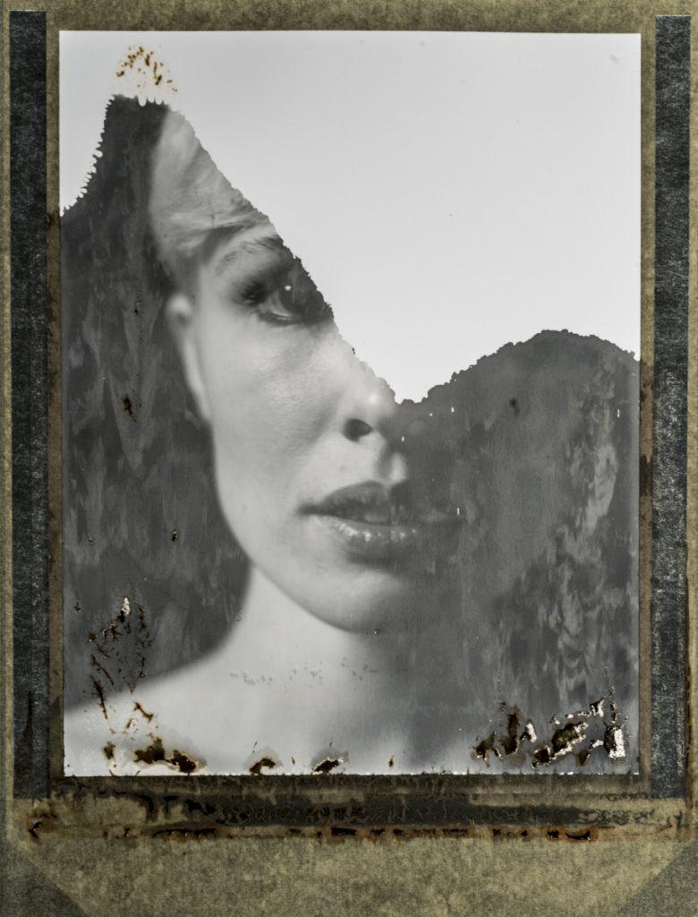 Marie #2, Polaroid 55, by Silvano Magnone