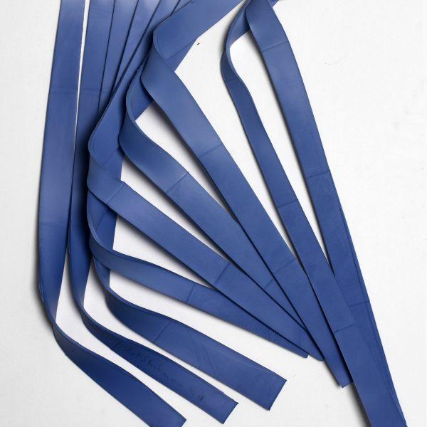 2017 wandinstallatie de wind komt van links 40x48cm Piet Stockmans